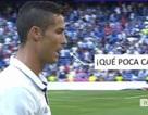 C.Ronaldo bị nghi ngờ chửi rủa cổ động viên Real Madrid
