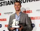 C.Ronaldo nhận giải Cầu thủ hay nhất Champions League 2015/16