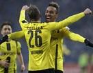 Bayern Munich gây thất vọng, Dortmund đại thắng nhờ 4 bàn của Aubameyang