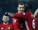 Đội hình tiêu biểu vòng 17 Premier League: Ibrahimovic rực sáng
