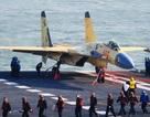 Máy bay Trung Quốc hạ cánh thành công trên tàu sân bay Liêu Ninh