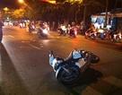 Một cầu thủ bóng đá nguy kịch sau va chạm xe máy