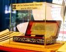 """""""Báu vật"""" kinh Phật khắc trên lá bối 2.000 năm tuổi lần đầu về Việt Nam"""