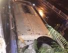 32 người la hét trong chiếc xe khách mất lái