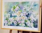 Sinh viên Nghệ thuật Huế triển lãm tác phẩm tri ân thầy cô