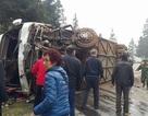 Xe khách bị tai nạn tại Lào Cai chở 41 hành khách Trung Quốc