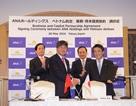 Vietnam Airlines và ANA chính thức ký hợp đồng mua bán cổ phần