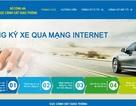 Thí điểm đăng ký xe ô tô qua mạng internet tại Hà Nội và TPHCM