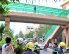 Thiếu nữ nhảy từ cầu vượt cao 8m, nguy kịch