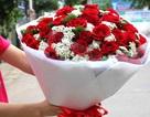 """Hoa hồng """"sốt"""" giá, dịch vụ bán hoa online """"đứng hình"""""""