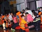 Giải cứu hàng trăm người bị cô lập trong mưa ngập ở Bình Dương
