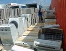 Tạm giữ 7 container hàng điện lạnh nghi nhập lậu vào TP.HCM