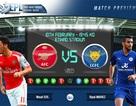 """Arsenal - Leicester City: """"Rũ bùn"""" đứng dậy"""