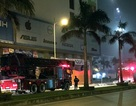 Hà Nội: Cháy chung cư, bà bầu cùng con nhỏ đi cấp cứu trong đêm