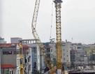 Hà Nội: Di dời 8 hộ dân để tháo dỡ cẩu tháp bị gãy đổ