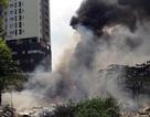 Hà Nội: Khói lửa bốc lên mù mịt tại công ty điện lực
