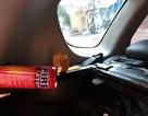 Bình cứu hỏa mini phát nổ trong ô tô