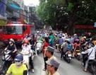 Hà Nội: Ùn tắc vì hỏa hoạn vào giờ cao điểm