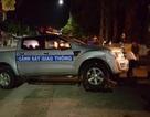Truy tìm đối tượng vi phạm tông xe CSGT để bỏ chạy