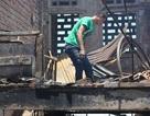 Vụ cháy chợ lớn nhất huyện: Bới đống tro tàn mong vớt vát tài sản
