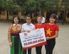 Thí sinh đoạt giải quốc gia nhưng trượt ĐH được cấp học bổng hơn 300 triệu đồng