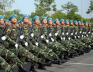"""Lực lượng diễu binh gấp rút luyện tập cho """"ngày hội lớn"""""""