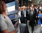 """Những """"tay lái vàng"""" hoá giải vụ xe khách mất phanh, Tổng thống Pháp đi bộ ở phố cổ"""