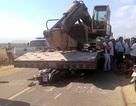Tài xế xe container cán chết học sinh ra đầu thú