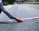 Thanh Hóa: Xuất hiện nhiều vết lún trên quốc lộ 1A