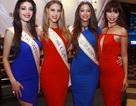 Hà Anh khoe dáng cùng Hoa hậu Toàn cầu