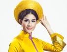 Hương Trâm khoe trang phục dân tộc tại Hoa hậu Quốc tế