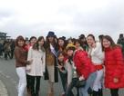 Kiều bào tiếp sức cho Hương Trâm tại hoa hậu quốc tế