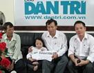 Quỹ Khuyến học Việt Nam và quà nhân ái tiếp sức thí sinh cao 70cm