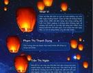 Gửi lòng hiếu thảo vào những ánh đèn trời