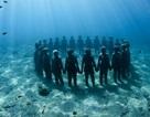 Bảo tàng điêu khắc với hơn 500 bức tượng dưới đáy biển