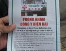 """Phòng khám Trung Quốc tung """"sách nổ"""" ra đường"""
