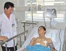 Cứu sống nam thanh niên bị đâm thủng gan, phổi