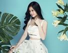 Á hậu Diễm Trang khoe vòng eo 58cm với áo crop top