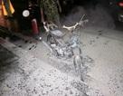 Xe máy tự bốc cháy thành tro trong đêm Trung thu