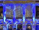 """""""Vẽ"""" biểu tượng châu Âu bằng ánh sáng laser tại Nhà hát Lớn"""