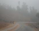 Bất ngờ xuất hiện sương mù tại Cao Bằng