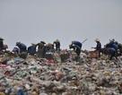 """Nhọc nhằn sống trên """"núi rác thải"""" lớn nhất thành phố"""
