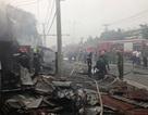 Chiết xăng gây cháy lớn, đường vào cảng Cát Lái tê liệt