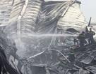 Cận cảnh hàng nghìn m2 nhà xưởng tan hoang sau đám cháy lớn