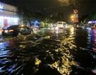 TPHCM: Nhiều tuyến đường ngập nặng sau mưa lớn