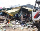 2 ô tô lao vào khu buôn bán, 17 người bị thương