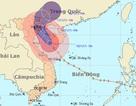 Tâm bão Haiyan đổi hướng vào Thái Bình, Hải Phòng, Quảng Ninh