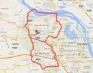 Sơ đồ, địa giới hành chính 2 quận mới của Hà Nội