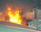 Hỏa hoạn thiêu rụi ngôi nhà 5 tầng và kho chứa phụ tùng xe máy