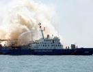 """3 tàu Trung Quốc """"vây"""" 1 tàu Cảnh sát biển Việt Nam"""